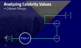Analyzing Celebrity Values