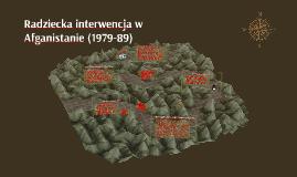 Radziecka interwencja w Afganistanie (1979-89)