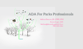ADA For Parks Professionals