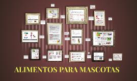 Copy of ALIMENTOS PARA MASCOTAS
