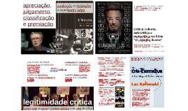 """Crítica cultural, autocrítica e metacrítica no filme """"O cidadão ilustre"""""""