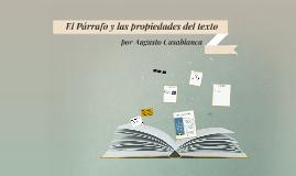 El Párrafo y las propiedades del texto