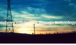 Delivery efficiencies through technology