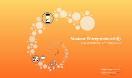Copy of Student Entrepreneurship