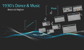 1930's Dance & Music