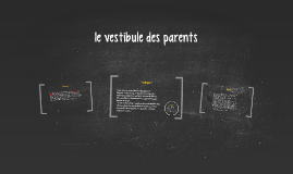 le vestibule des parents