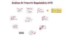Análise de Impacto Regulatório. Galeno.