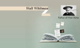 Copy of Walt Whitman