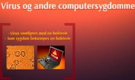 Virus og andre computersygdomme