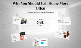 why you should call home more often