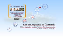 Bildungscloud für Österreich?