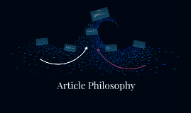 Article Philosophy