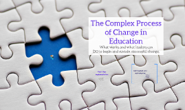 Complex Process of Educational Change by Lesley Austin