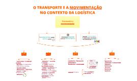 Transporte e Distribuição > Aula 01 > O transporte e a Movimentação no contexto da Logística