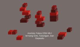 Analisis Fatwa DSN MUI tentang Giro, Tabungan, dan Deposito