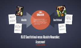 05.02 Constitutional versus Absolute Monarchies: Assessment