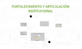 Copy of FORTALECIMIENTO Y ARTICULACIÓN INSTITUCIONAL