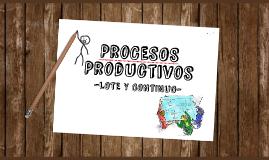 Procesos de Producción por Lotes