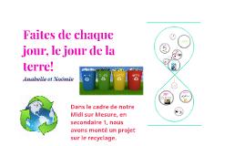 Le recyclage à l'école