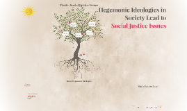 Hegemonic Ideologies in Society Lead to Social Justice Issue