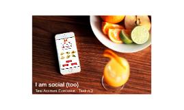 I am social (too) - Task n.3
