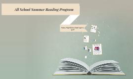 Summer Reading program alternatives