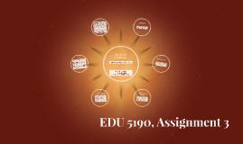 EDU 5190, Assignment 3