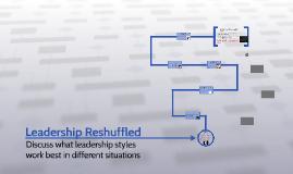 Leadership Reshuffled