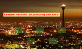 Khomeini's Doctrine of the Guardianship of the Jurists