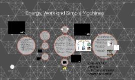8--ENERGY & WORK & MACHINES