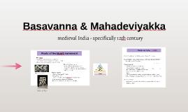 Basavanna & Mahadeviyakka
