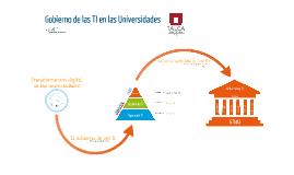 UTALCA Gobierno de las TI en las Universidades