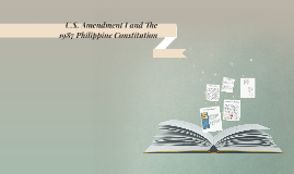 U.S. Amendment I and the 1987 Philippine Constitution