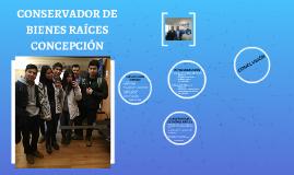 CONSERVADORA DE BIENES RAÍCES