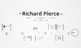 Timeline Prezumé by richard pierce