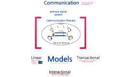 COMM107: Communication process