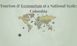 Tourism and Ecotourism Col