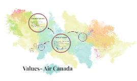 Values- Air Canada