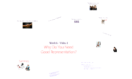 Week 6 - Video 1 Why Do You Need Good Representation?