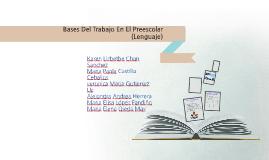 Bases Del Trabajo En El Preescolar (Lenguaje)