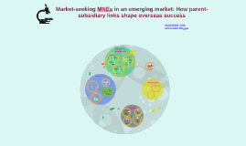 Market-seeking MNEs in an emerging market: How parent-subsid