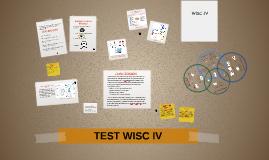 Copy of TEST WISC IV