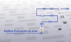 Metodología de evaluación ex ante