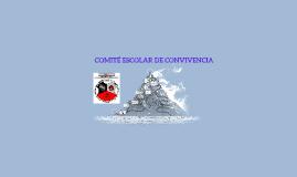 COMITÉ DE CONVIVENCIA ESCOLAR