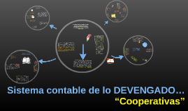 """Sistema contable de lo DEVENGADO…""""Cooperativas"""""""