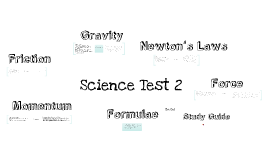 Science Test Study Guide