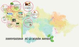Copy of diversidad  de la región andina