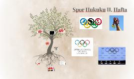 Spor Hukuku II. Hafta