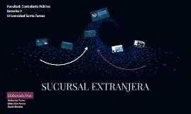 SUCURSAL EXTRANJERA