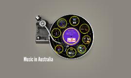 Music in Australia